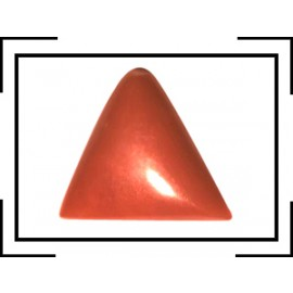 Natural Red Coral Triangular 3+ 2.05ct