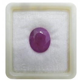 Astrological Ruby Gemstone Fine 13+ 7.85ct