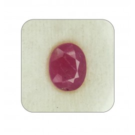 Certified Ruby Gemstone Fine 5+ 3.2ct