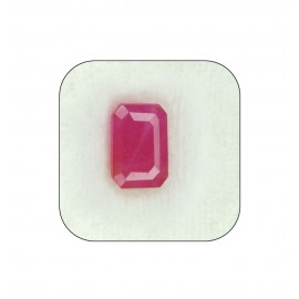 Certified Ruby Gemstone Fine 5+ 3.25ct