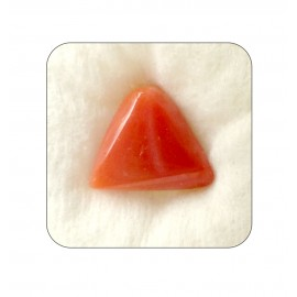 Astrological Coral Triangular 9+ 5.7ct