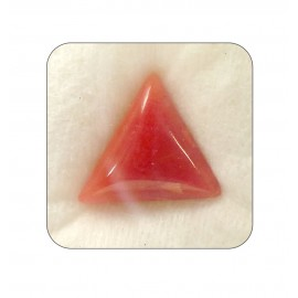 Natural Red Coral Triangular 10+ 6.25ct